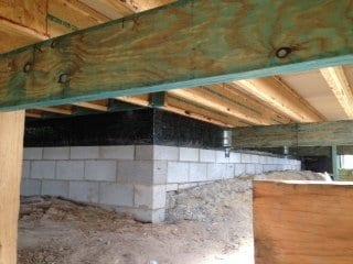 Termite Barrier Subfloor