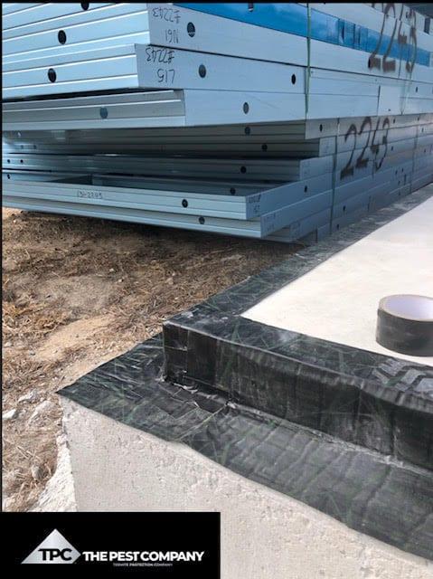 Steel Frame Homes need Termite barriers