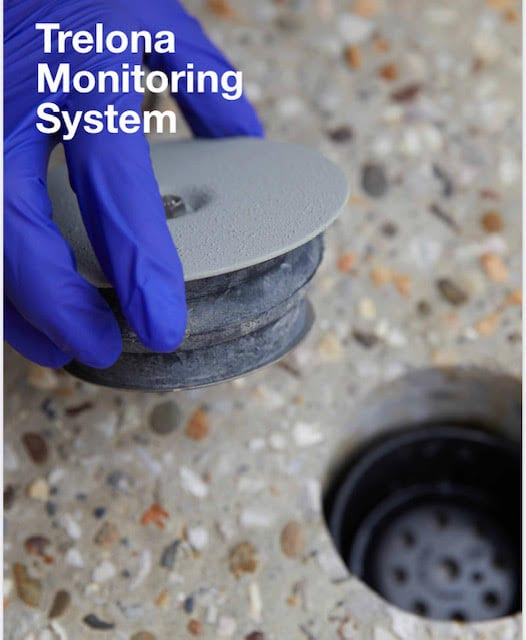 Trelona In Concrete Monitoring System