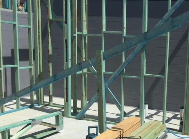 Termite Barriers to masonry core filled block work Brisbane